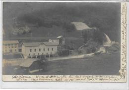 SUISSE . C BERN . MONTBOVON . Usine Hydro-électrique , Vers Albeuve , édit : R Guilleminot , écrite En 1904 , état Extra - BE Berne