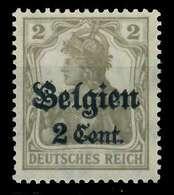 BES 1WK LP BELGIEN Nr 10 Ungebraucht X77B51A - Occupation 1914-18