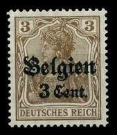 BES 1WK LP BELGIEN Nr 11b Postfrisch X77B74E - Occupation 1914-18