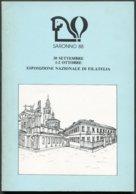 1988 Italy SARONNO 88 Philatelic Exhibition Handbook - Other Books