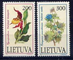 LITUANIE - 430/431** - FLEURS - Litauen