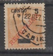 CONGO CE AFINSA 55 - POSTMARKS OF ANGOLA - Congo Portuguesa