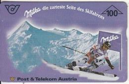 AUSTRIA - Milka, CN : 700A, 02/97, Used - Publicité