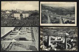 Conjunto De 4 Postais De VILA REAL Villa: Pontes Rio Corgo, Rio Cabril, Casa Diogo Cão. Set Of 4 Old Postcards PORTUGAL - Vila Real