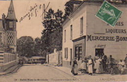 S45-033 Saint-Nom La Bretèche - Vue Prise De La Grande Rue - St. Nom La Breteche