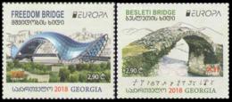 2018Georgia711-712Europe CEPT / Bridges - 2018