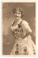 Cartolina Postcard Folies Bergère La Belle Eleonore 1905 From Granada To Nice - Artisti