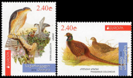 2019Georgia731-732Europe CEPT / Birds - 2019