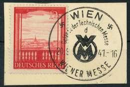 DEUTSCHES REICH 1941 Nr 804 Briefstück X82AD8A - Duitsland