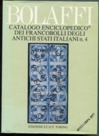 1977 Bolaffi Catalogo Enciclopedico Dei Francobolli Degli Antichi Stati Italiani N.4 - Italia