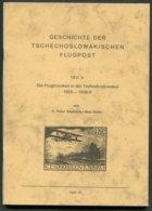 Geschichte Der Tschechoslowakischen Flugpost Teil 3, Die Flugstrecken In Der Tschechoslowakei 1923-1938/9. Czech Airmail - Air Mail And Aviation History