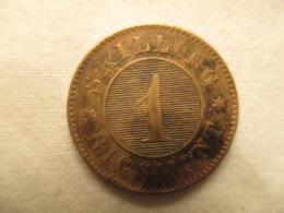 Sweden: 1 Skilling 1860 - Denmark