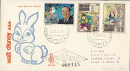 SAN MARINO - 1970 - Lotto Di 3 Buste Primo Giorno Numerate E Viaggiate (vedere Descrizione Completa) - FDC
