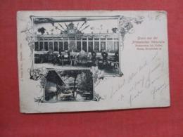 Altdeutschen Weinstube,  Meren  Austria Has Stamp & Cancel Ref 3706 - Postcards