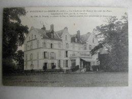 FONTENAY LES BRIIS - Le Château De Soucy Du Côté Du Parc - Other Municipalities