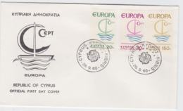 Cyprus 1966 FDC Europa CEPT  (G104-46) - Europa-CEPT