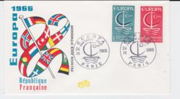 France 1966 FDC Europa CEPT  (G104-45) - Europa-CEPT