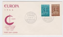 Iceland 1966 FDC Europa CEPT  (G104-45) - 1966