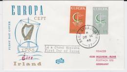 Ireland 1966 FDC Europa CEPT  (G104-45) - Europa-CEPT