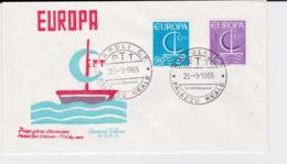 Italy  1966 FDC Europa CEPT  (G104-45) - Europa-CEPT
