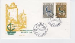 Luxembourg 1966 FDC Europa CEPT  (G104-45) - Europa-CEPT