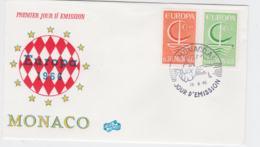 Monaco 1966 FDC Europa CEPT  (G104-45) - Europa-CEPT