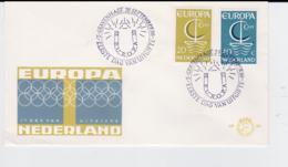 Netherlands 1966 FDC Europa CEPT  (G104-45) - Europa-CEPT