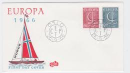 Norway  1966 FDC Europa CEPT  (G104-45) - Europa-CEPT