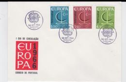 Portugal 1966 FDC Europa CEPT  (G104-45) - Europa-CEPT