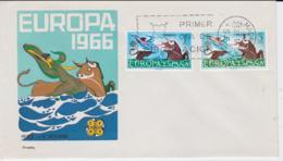 Spain 1966 FDC Europa CEPT  (G104-46) - Europa-CEPT