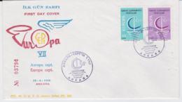 Turkey 1966 FDC Europa CEPT  (G104-46) - Europa-CEPT