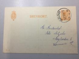 K8 Dänemark Ganzsache Stationery Entier Postal P 157II Mit Zudruck Skjelskör Nach Kopenhagen - Interi Postali