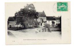 87 - SAINT SORNIN-LEULAC - Place De L'Eglise - Animée - 1912 (C113) - France