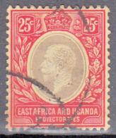 EAST AFRICA/ UGANDA     SCOTT NO 60    USED   1914 - Protectorados De África Oriental Y Uganda