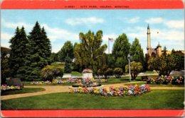 Montana Helena Scene In City Park - Helena
