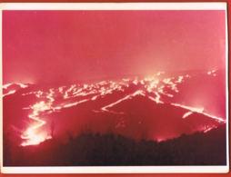 Photo Couleurs Ile De La Réunion- Le Volcan 1961-  B;Bénard - Format 14 X 10,5 Cm-scans Recto Verso- Paypal Sans Frais - Repro's