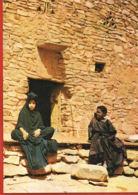 République Islamiste De MAURITANIE -  OUADANE- ADRAR- Architecture Du XIV Siècle - Cpsm  Recto Verso --Paypal Sans Frais - Mauretanien