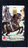 TELECARTE - Croix-Rouge Francaise - Saumur - Télécartes