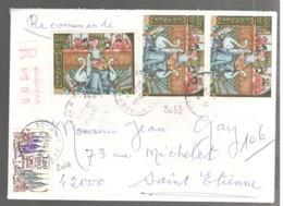 24459 - Recommandée - Marcofilie (Brieven)