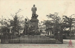 TONKIN HAIPHONG Square Et Statue J Ferry RV - Viêt-Nam