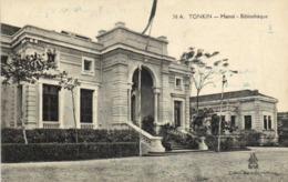 TONKIN HANOI  Bibliotheque RV - Viêt-Nam