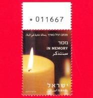 Nuovo - MNH - ISRAELE - ISRAEL - 2012 - Candela - In Ricordo - In Memory - 1.70 - Israele