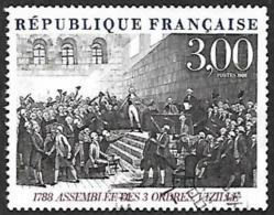 FRANCE   1989  -  Y&T  2537 -  Assemblée Des Trois Ordres    - Oblitéré - France