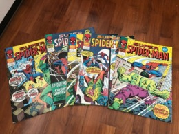 Vintage Spider-Man Comics, Over 150 Of Them - Marvel