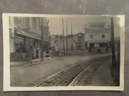 ALPES MARITIMES NICE CP PHOTOS BAR DU STADE ET ETS JACQUESSON ALIMENTATION 1934 - Cafés, Hôtels, Restaurants