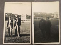 ALPES MARITIMES NICE LOT DE 2 CP PHOTOS STADE DU RAY 1939 - Nice