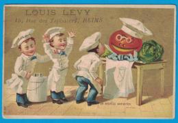 IMAGE HORLOGERIE BIJOUTERIE LOUIS LEVY ANCIENNE MAISON BLAVAT-DELEULLE REIMS / UN NOUVEAU MARMITON - Other