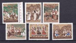 Yugoslavia - 1957 Year - Michel  827/832 - MNH - 1945-1992 Repubblica Socialista Federale Di Jugoslavia