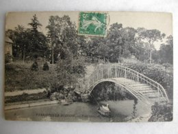 VERRIERES LE BUISSON - Pont Rustique Sur Le Lac - Verrieres Le Buisson
