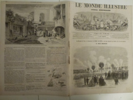 Le Monde Illustré 23 Mars 1867 519 Explosion Trocadero Exposition Universelle Troyes - Books, Magazines, Comics